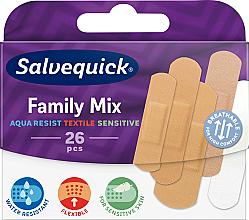 Parfumuri și produse cosmetice Set plasturi - Salvequick Family Mix