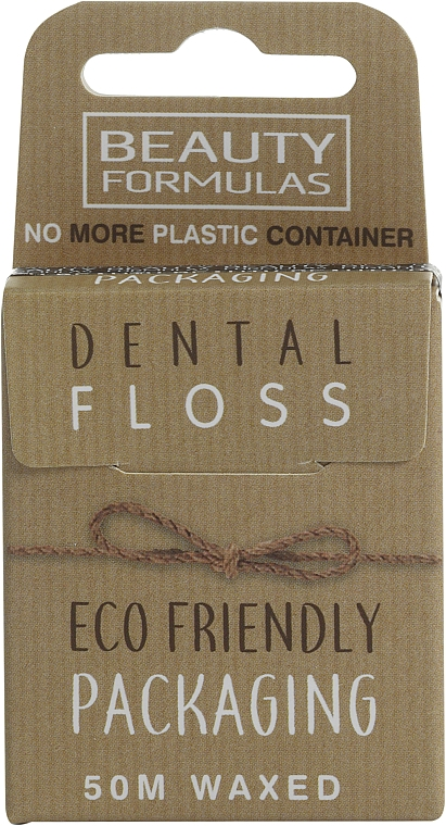 Ață dentară cerată, ecologică - Beauty Formulas Eco Friendly Dental Floss