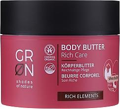 Parfumuri și produse cosmetice Unt de corp - GRN Rich Elements Shea Body Butter