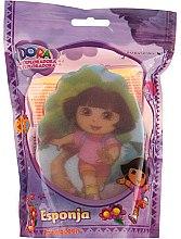 """Parfumuri și produse cosmetice Burete pentru baie """"Dora"""", 169-8, pentru copii - Suavipiel Dora Bath Sponge"""