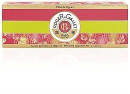 Parfumuri și produse cosmetice Roger & Gallet Fleur de Figuier - Set (soap/3x100g)