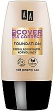 Parfumuri și produse cosmetice Fond de ten 2 în 1 - AA 2in1 Cover&Correct Foundation