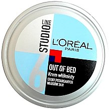 Духи, Парфюмерия, косметика Моделирующий крем для волос - L'Oreal Paris Studio Line Out of Bed Cream