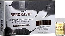 Parfumuri și produse cosmetice Complex pentru scalp cu extract de napi - Farmona Seboravit