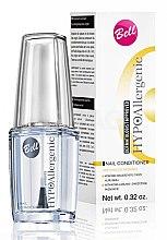 Parfumuri și produse cosmetice Soluție pentru unghii - Bell Hypoallergenic Nail Conditioner