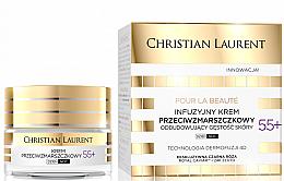 Parfumuri și produse cosmetice Cremă antirid de față 55+ - Christian Laurent Pour La Beaute