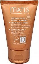 Parfumuri și produse cosmetice Cremă anti-rid, protecție solară - Matis Reponse Soleil Sun Protection Care Anti-Ageing Cream SPF 10