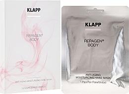 Parfumuri și produse cosmetice Mască pentru mâini - Klapp Repagen Body Anti-Aging Moisturizing Hand Mask (tester)