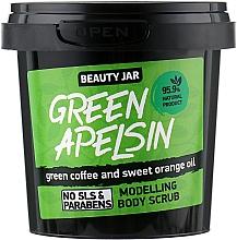 """Parfumuri și produse cosmetice Scrub pentru remodelare corporală """"Green Apelsin"""" - Beauty Jar Modelling Body Scrub"""