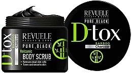 Parfumuri și produse cosmetice Scrub de corp - Revuele Pure Black Detox Volcanic Body Scrub