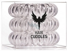 Elastic de păr, transparent - HH Simonsen Hair Cuddles Clear