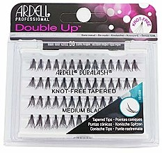 Parfumuri și produse cosmetice Gene false - Ardell Double Up Soft Touch Knot- Free Medium Black