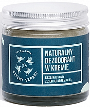 Parfumuri și produse cosmetice Deodorant-cremă fără miros - Cztery Szpaki