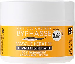 Parfumuri și produse cosmetice Mască pentru păr uscat și fară viață - Byphasse Keratin Hair Mask