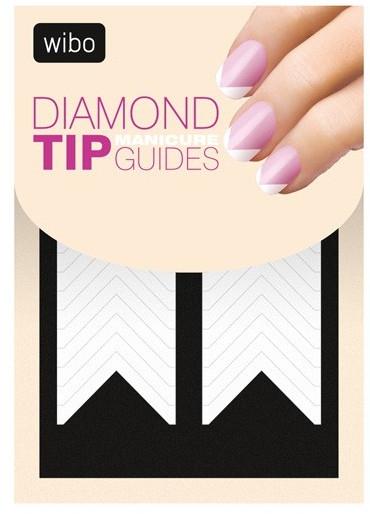 Șabloane pentru manichiura french - Wibo Diamond Manicure Tip Guides — Imagine N1