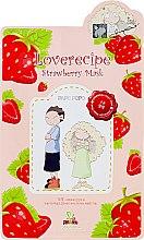 Mască cu extract de căpșuni pentru față - Sally's Box Loverecipe Strawberry Mask — Imagine N1
