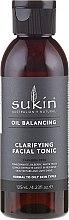 Parfumuri și produse cosmetice Tonic de curățare pentru față - Sukin Oil Balancing Clarifying Facial Tonic