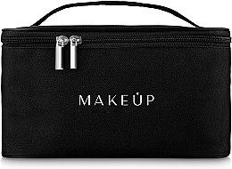 Parfumuri și produse cosmetice Trusă pentru călătorii, neagră (22 x 16 x 13 cm) - MakeUp