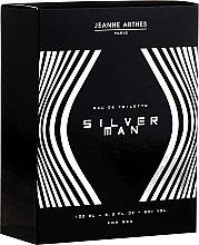 Parfumuri și produse cosmetice Jeanne Arthes Silver Man - Apă de toaletă