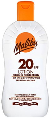 Loțiune de protecție solară SPF 20 - Malibu Lotion Medium Protection