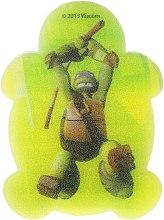 Parfumuri și produse cosmetice Burete de baie pentru copii, Leonardo 5 - Suavipiel Turtles Bath Sponge