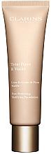 Parfumuri și produse cosmetice Cremă cu efect de netezire pentru față - Clarins Teint Pores & Matite Pore Perfecting Matifying Foundation