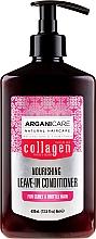 Духи, Парфюмерия, косметика Несмываемый кондиционер для вьющихся волос - Arganicare Collagen Nourishing Leave-In Conditioner