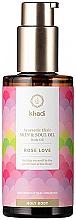 Parfumuri și produse cosmetice Аюрведический эликсир-масло для тела - Khadi Ayurvedic Elixir Skin & Soul Oil Rose Love