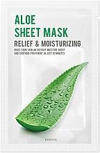 Parfumuri și produse cosmetice Mască hidratantă pentru față - Eunyul Aloe Sheet Mask