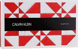 Parfumuri și produse cosmetice Calvin Klein Euphoria - Set (edp 100ml + mini 10ml + b/l 200ml)