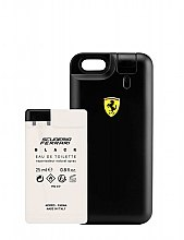 Parfumuri și produse cosmetice Ferrari Scuderia Ferrari Black - Set (edt/25ml + case)