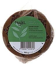 Parfumuri și produse cosmetice Săpun de Alep cu ambră și lemn de agar - Najel Aleppo Soap Amber& Oud Scent