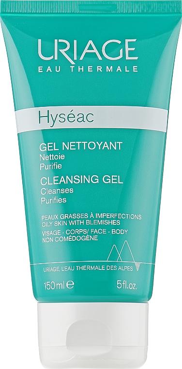 Gel ușor de curățare Hyseac - Uriage Combination to oily skin