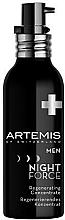 Parfumuri și produse cosmetice Concentrat regenerant pentru față - Artemis of Switzerland Men Night Force Regenerating Concentrate