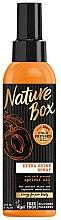 Parfumuri și produse cosmetice Spray de păr cu ulei de piesici - Nature Box Apricot Oil Extra Shine Spray