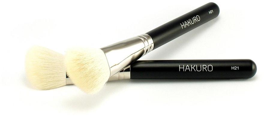 """Pensulă pentru fard de obraz """"H21"""" - Hakuro — Imagine N1"""