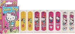 Parfumuri și produse cosmetice Plasture pentru copii - VitalCare Hello Kitty Kids Plasters