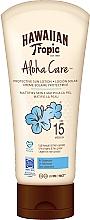 Parfumuri și produse cosmetice Loțiune protecție solară pentru corp - Hawaiian Tropic Aloha Care Protective Sun Lotion Mattifies Skin SPF 15