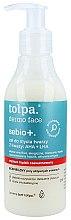 Parfumuri și produse cosmetice Gel de curățare cu acizi - Tolpa Sebio+ AHA + LHA Cleansing Gel