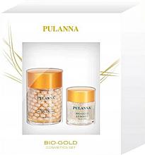 Parfumuri și produse cosmetice Set - Pulanna Bio-Gold (cr/60g + eye/gel/21g)