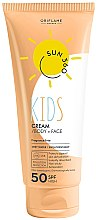 Parfumuri și produse cosmetice Cremă de protecție solară pentru copii - Oriflame Sun 360 Kids Cream SPF 50