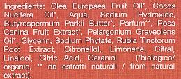 Săpun cu unt de shea și ulei de trandafir - La Saponaria Rose & Shea Butter Soap — Imagine N4