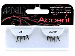 Parfumuri și produse cosmetice Gene false individuale - Ardell Accent Black Lashes