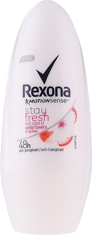 Deodorant roll-on - Rexona Stay Fresh Deo Roll-On White Flowers