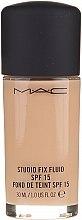 Parfumuri și produse cosmetice Fond de ten - MAC Studio Fix Fluid SPF15