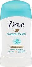 """Parfumuri și produse cosmetice Deodorant stick """"Gingășia mineralelor"""" - Dove Mineral Touch Deodorant"""