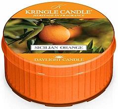Parfumuri și produse cosmetice Lumânare aromată - Kringle Candle Sicilian Orange