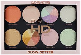 Parfumuri și produse cosmetice Paletă iluminatoare - Makeup Revolution Pro HD Palette Glow Getter