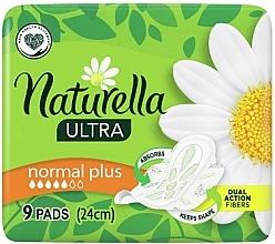 Духи, Парфюмерия, косметика Гигиенические прокладки с крылышками, 9 шт - Naturella Ultra Normal Plus