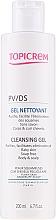 Parfumuri și produse cosmetice Gel de curățare pentru păr și corp - Topicrem PV/DS Cleansing Gel